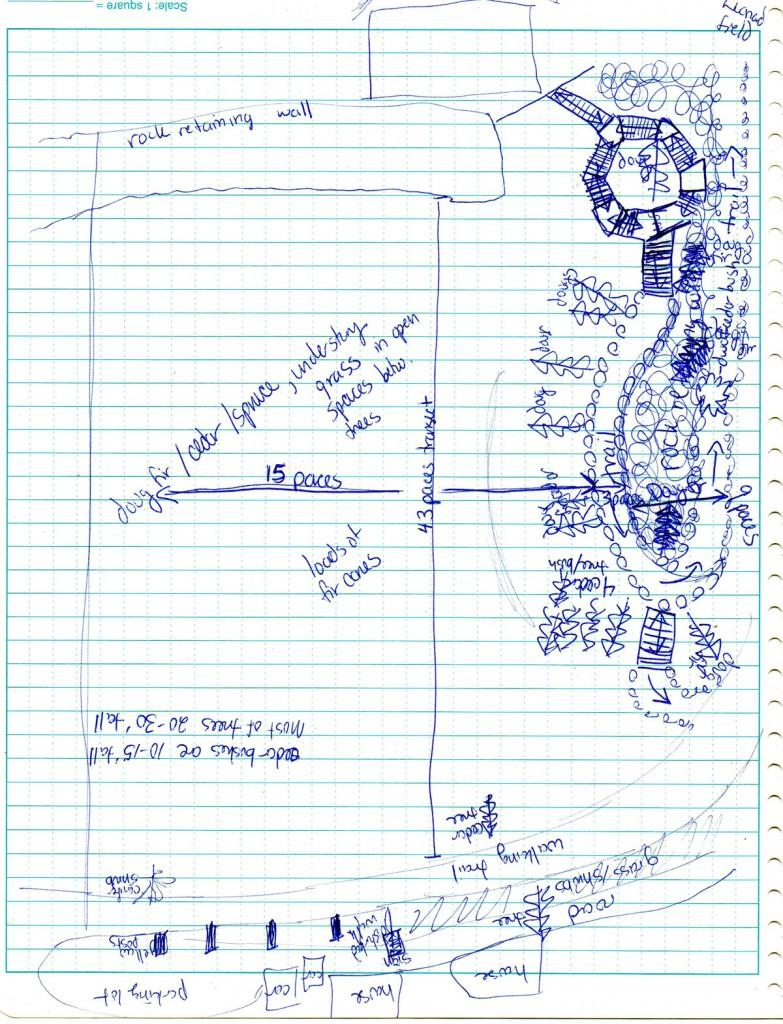 Sample Field Map Sketch #3