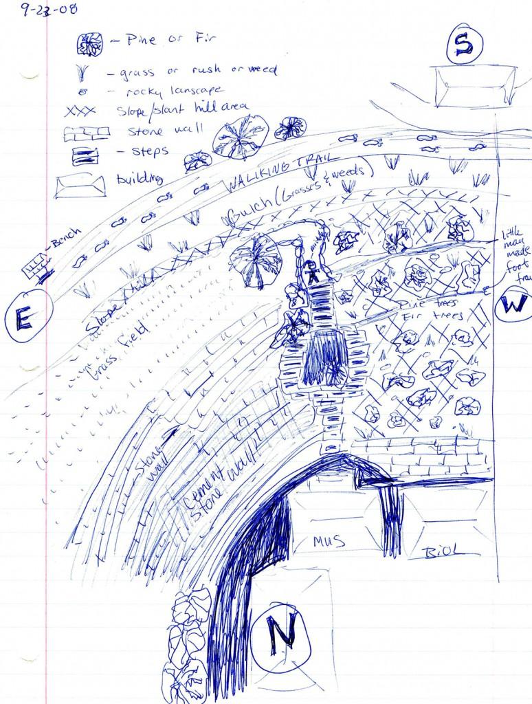 Sample Field Map Sketch #4